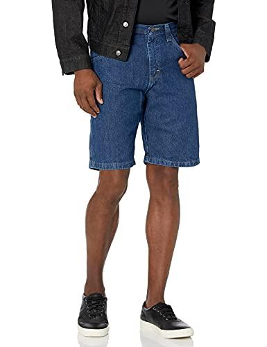 Wrangler Authentics Men's Loose Fit Carpenter Short, Retro Stone, 42