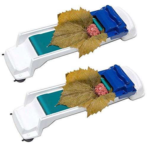 Máquina de enrollar universal para carne de sushi para hojas de uva y chou harcies de sarma turco, herramientas de cocina para enrollar carne vegetal, paquete de 2