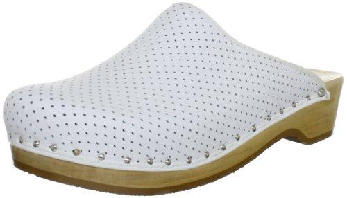 Berkemann Unisex-Erwachsene Standard-Toeffler Clogs, Weiß (weiß 100), 44 EU