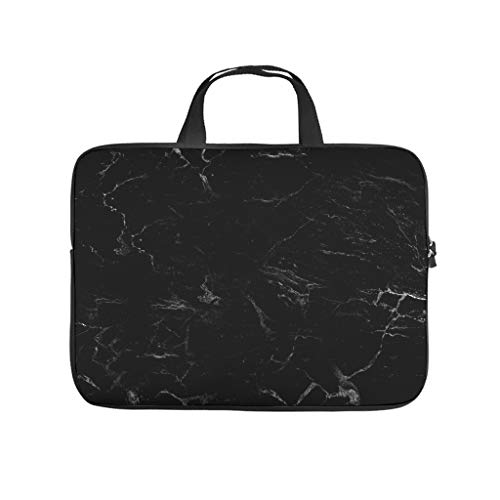 Lightweight Marble Texture Laptop Sleeve Durable Office Bag -Cool Tone for Notebook white3 13 Zoll