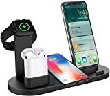 BOTRADE WCP40 4 in 1 Wireless Charger Charging Stand Docking Station for iPhone