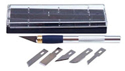 Artesania Latina 900180 Schneidemesser mit Etui und Klingen