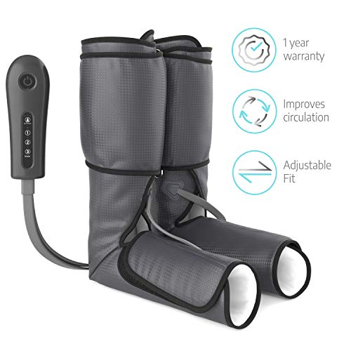 Sedona Leg Massager Circulation Device - Rechargeable Foot Sequential Air Compression...
