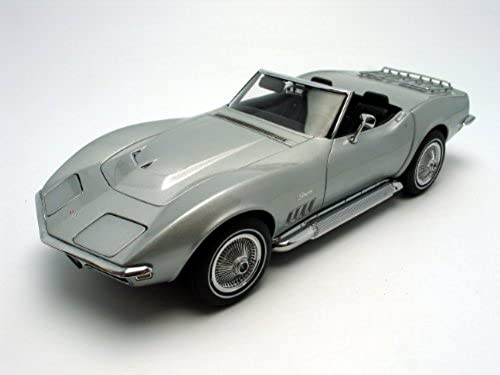 Chevrolet Corvette 1969, catez silber, Limited Edition 6.000 Stück worldwide