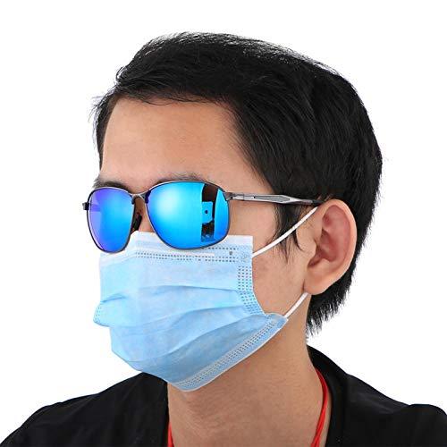DAUERHAFT Schutzbrille für polarisierte Sonnenbrillen Robust, langlebig und zum Schutz der Augen(Black Frame Mercury Tablets)