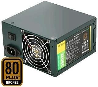 Antec EA-380D Green ATX 12V v2.3 Active PFC SATA PCI Express 80-plus Bronze 380W Power Supply EA380D Green