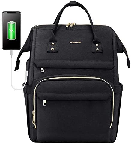 Laptop Backpack for Women Fashion Travel Bags Business Computer Purse Work Bag with USB Port product image