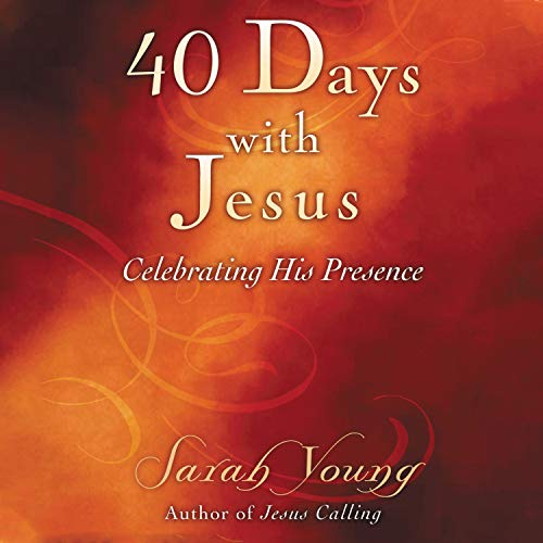 40 Days with Jesus cover art
