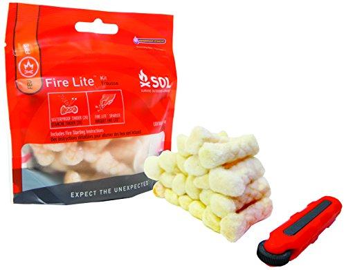 SOL Fire Lite Zündkerzen-Set, Unisex, Erwachsene, Weiß
