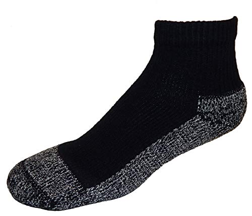 Cushees Calzini Spessi alla Caviglia, Confezione da 3 [L da Uomo 166]