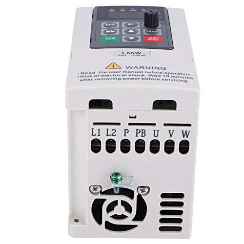 Inversor convertidor de frecuencia monofásico, inversor monofásico estable, práctico y confiable, para maquinaria de impresión