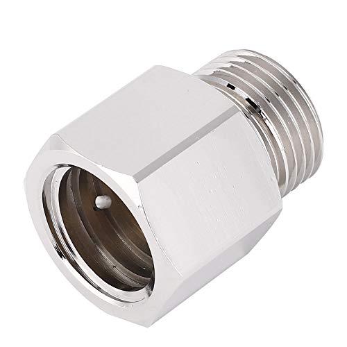 Qiter Aluminium Soda Stream Adapter, Leichter tragbarer Zylinder Soda Stream Adapter, TR21-4 bis W21.8 für Mini Regulator Aquarium Zylinder Homebrew Bierfass