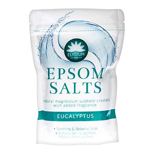 Elysium spa epsom badsalter naturlig magnesiumsulfat kristaller, Eukalyptus
