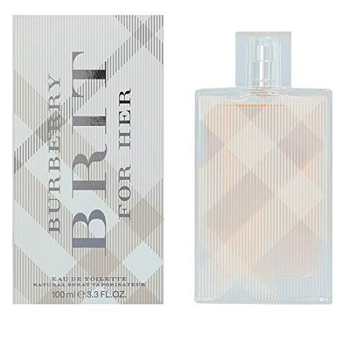BURBERRY Brit FOR HER Damen Eau de Toilette, 100 ml