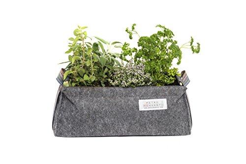 Saco Balconera mini Mh (50x20x20cm) par Huerto Urbano + Manual Agricultura Urbana digital