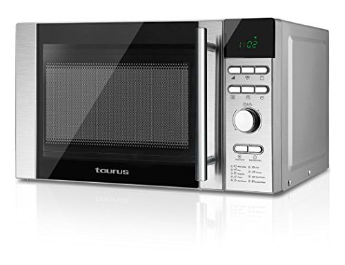 Taurus Luxus Tronic Microondas Digital, Inox