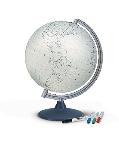 ST 3062: Stummer Kunststoff, unbeleuchtet, mit 4 Stiften (Globus für Kinder)