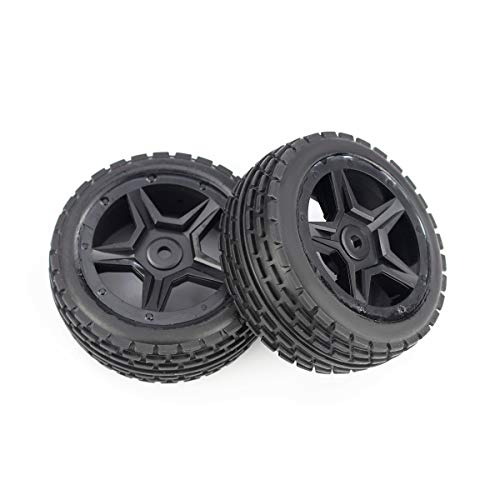Hosim RC Car Wheel Anteriore Accessori per Pneumatici Parti di Ricambio Ruote 71-003 per G171 RC Car (2 Pezzi)