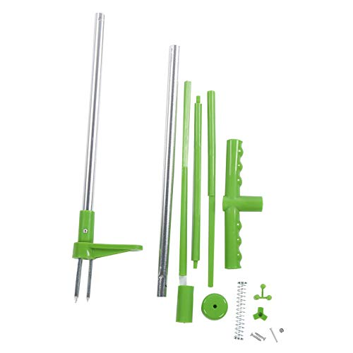 Wacent Weed Puller Tool, Outdoor Yard Garden Standing Weeder Plant Root Remover Industrial Hand Kit Weed Puller Tool