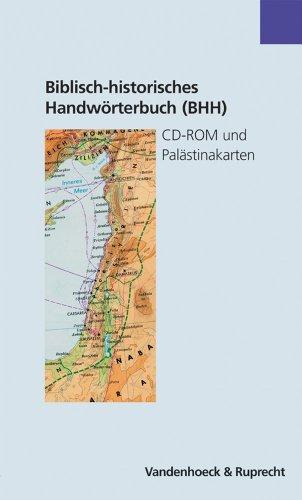 Biblisch-historisches Handwörterbuch (BHH): CD-ROM und Palästinakarten. CD-ROM und 2 Palästinakarten fr.Prs
