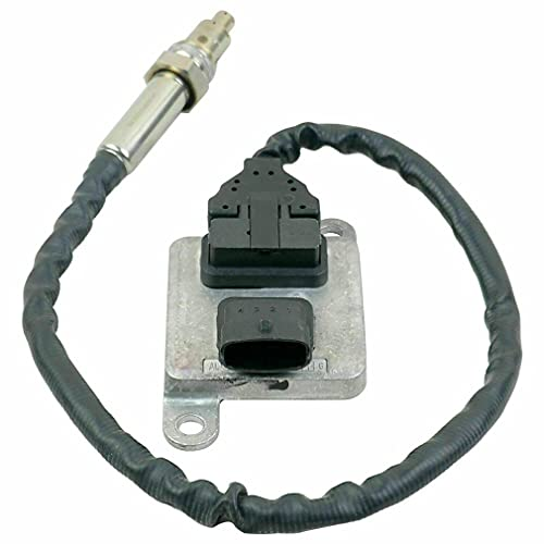 CandyT Sensor Nox Resistente # 11787587128 5WK96610L para 5er E60 E61 523i 525i 525xi 530i 530xi N53 Sensor Nox (Negro)