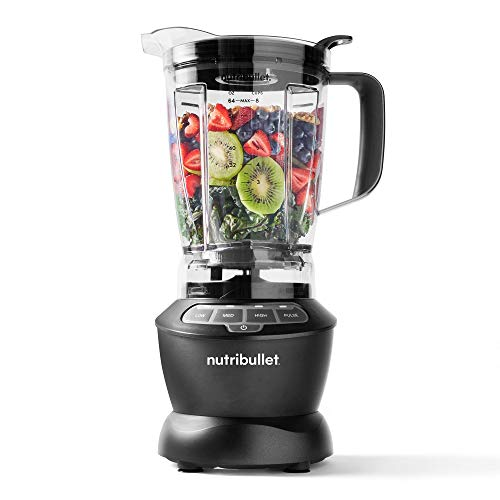 NutriBullet ZNBF30400Z Blender 1200 Watts, 1200W, Dark Gray (Renewed)