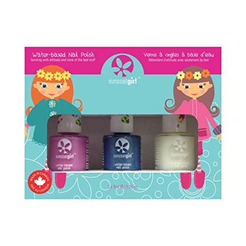 Suncoat Mermaid Princess Set 3 nagellak voor water voor kinderen
