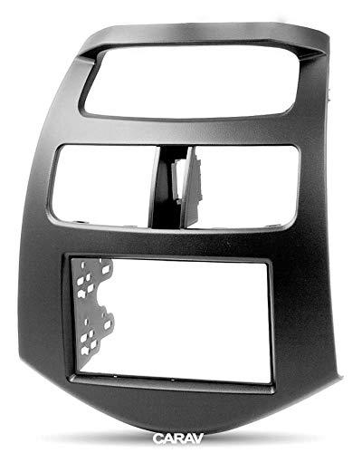 CARAV 11-180 Adaptateur stéréo Radio Voiture DVD Dash entourée d'installation Kit de Garniture pour Spark M300 2010-2013/ Matiz modèles Creative (M300) 2009-2011 Façade d'autoradio façade d'autoradio