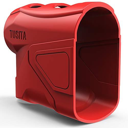 TUSITA Custodia per TecTecTec ULT-X - Case protettiva in silicone - Accessori per telemetro laser da golf
