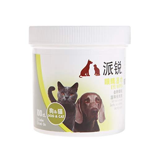 Lyguy Pet x Wet Tissue, 1 Doos Nat Tissue Pet Ogen Tear Stain Remover Reinigingsbenodigdheden Zachte doekjes Niet Irriterend Niet Giftig Papier Handdoek Hond Kat Puppy Kitten Producten