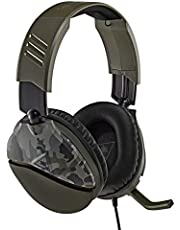 Turtle Beach Recon 70 Auriculares Gaming PS4, PS5, Xbox One, Nintendo Switch y PC, Verde (Camuflaje)