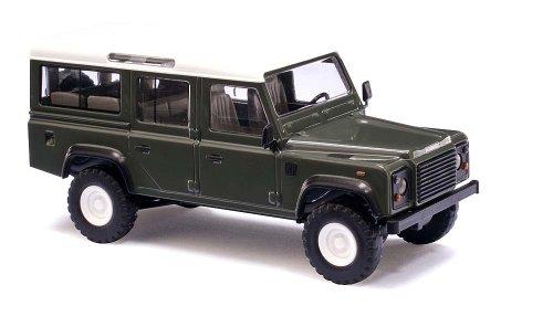 Busch Voitures - BUV50301 - Modélisme Ferroviaire - Land Rover Defender Vert