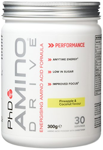 PhD Nutrition Amino Drive Supplement, Pineapple and Coconut