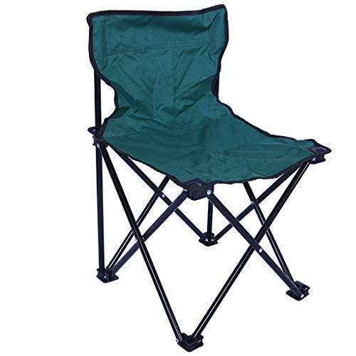 LHQ-HQ Silla Verde Plegable portátil Multifuncional Camping al Aire Libre al Aire Libre Camping Chair360x340x540mm