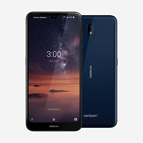 Nokia 3V TA-1182 16GB 6.26' HD+ Display 13MP Camera 4G LTE Smartphone for Verizon Wireless and GSM Unlocked
