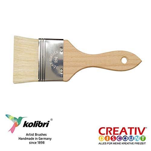 CREATIV DISCOUNT® NEU Borsten-Modler Schweinsborste, Gr. 40, 1 Stück