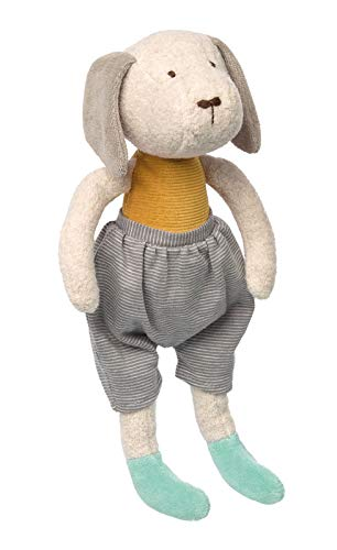 Sigikid 41938 knuffelig vriend hond Signature Collection Soft speelgoed, 31 x 9 x 9 cm