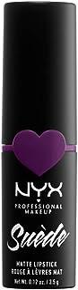 NYX Professional Makeup NYX Professional Makeup Barra de Labios Mate de Larga duración y Cobertura Total Suede Matte Lipst...