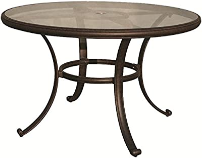 594a82540990 Amazon.com - Monarch Specialties I 1749 Tempered Glass Dining Table ...