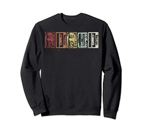 Unisex Retro Cassettes Sweatshirt, 5 Colours, S to 2XL