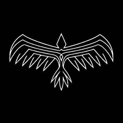 PJYGNK Sticker de Carro 15,9 CM * 8,8 CM Dibujos Animados águila pájaro halcón alas Capucha Vinilo Pegatina decoración de Coche C15-0851