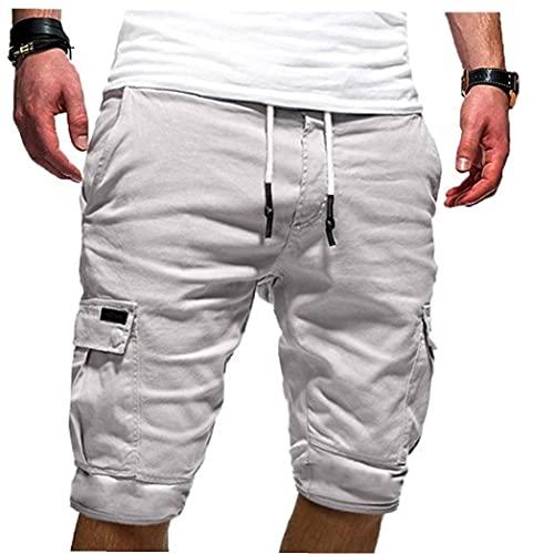 EElabper Hombres Pantalones Cortos Pantalones Cortos de Vera