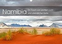 Namibia: Ein Traum von sanftem Licht und unendlicher Weite (Wandkalender 2022 DIN A3 quer): Eine vom Licht durchdrungene Reise durch Namibias magische Orte und malerischte Landschaften. (Monatskalender, 14 Seiten )