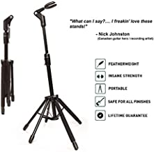 D&A Guitar Gear Starfish Passive 5-Legged Full Size Guitar Stand for Electrics/Acoustics with Necks up to 2-1/8