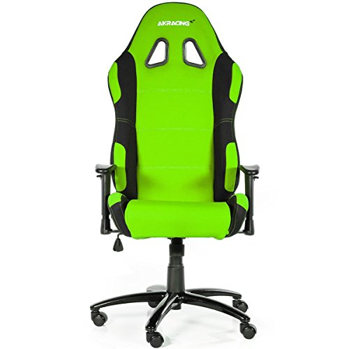 AKRacing Prime - AK-7018-BG - Silla Gaming, Color Negro/Verde