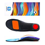 SENNOFIT Medium Arch Support Insoles, Plantar Fasciitis Orthotic Shoes Inserts Shock Absorption...