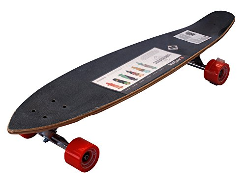 Street Surfing Longboard Kick Tail de Urban de Rough, Multicolor, 36Pulgadas, 500237