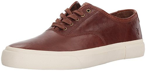 Frye Men's Ludlow Bal Oxford Sneaker, Cognac, 8.5 Medium US
