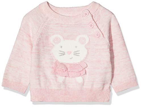 Mothercare IO NB Novelty Jumper Pull, Noir (Pink 130), Tiny Baby (Size:50) Mixte bébé