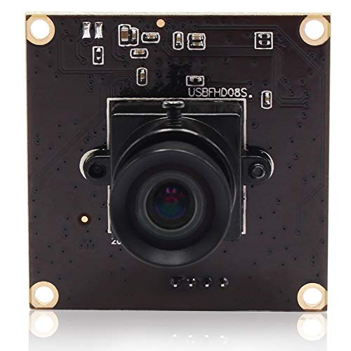 USB Camera Mini Webcam Board Module Full HD 1080P Web Cams,High Frame Rate Cameras 640X360@260fps Indoor Outdoor Home Nanny Surveillance USB with Cameras,OV4689 UVC for Linux Windows Android Cameras